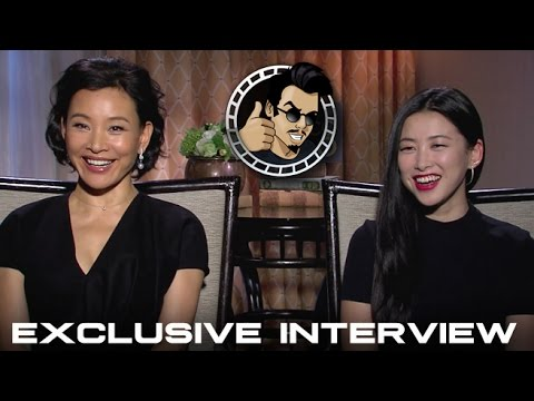 Zhu Zhu and Joan Chen Interview - Netflix's Marco Polo (HD) 2014