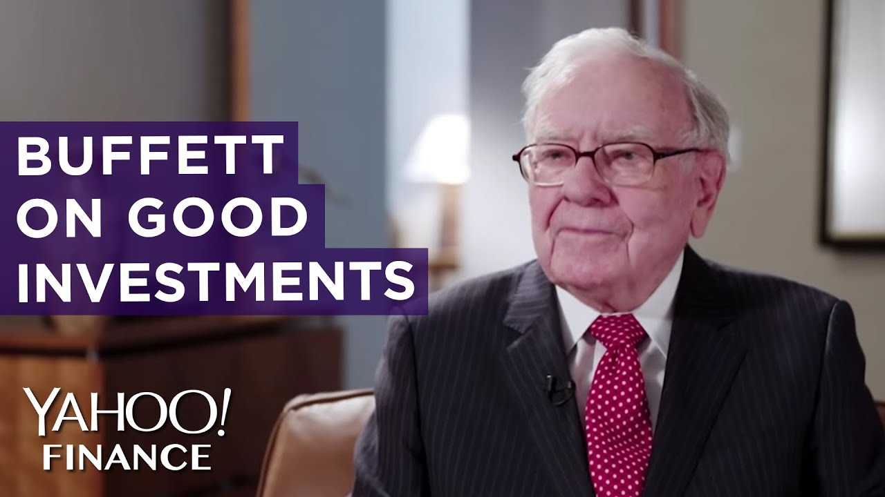 How Warren Buffet decides if something is a good investment